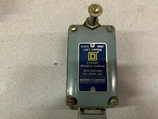 NEW NO BOX SQUARE D LIMIT SWITCH 9007 M-12