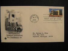 U.S. Sc# 3220 FDC, 400th Anniversary of Spanish Settlement of the Southwest