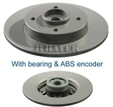 PEUGEOT 207 WD, WK 2x Brake Discs (Pair) Solid Rear 1.6 1.6D 06 to 15 249mm Set