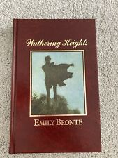 The Great Writers Library Wuthering Heights By Emily Bronte - Hardback Book