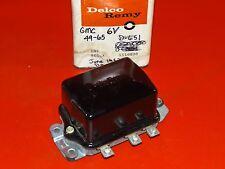 NOS Delco 1947-64 GMC Hendrickson American La France Diamond T voltage regulator