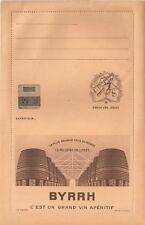 Lettre enveloppe ancienne Byrrh alcool vin Thuir publicité cave tonneau Foudre