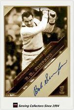 2011 Heritage Test Cricket Captains Blue Facsimile Signature #30: Bob Simpson