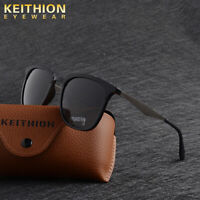 KEITHION TR-90 Polarized Sunglasses Mens Square Traval Outdoor Driving Eyewear