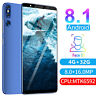 """5.72"""" Unlocked Android 8.1 Cell Phone Dual SIM 4G+32G Quad Core Cheap Smartphone"""