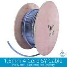 1.5mm de 4 núcleos Sy 3 fases de acero trenzado blindado flexible claro Flex Por Metro