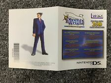 Phoenix Wright Ace Attorney Unscratched Club Nintendo Points Nintendo DS