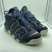 Nike Air More Uptempo GS Youth Thunder Blue Shoes 415082-402 Size 7Y / Women 8.5
