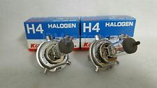 Koito Made in Japan Headlight Bulb Set of 2 H4 Halogen 12V - 55/60w fits TOYOTA