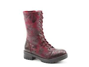 Heavenly Feet Arabella Wine Rose Womens Boots