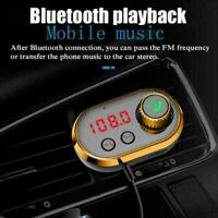 Auto FM Transmitter Bluetooth 5.0 Drahtlose Freisprecheinrichtung MP3 Playe U3M2