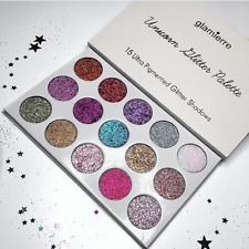 EYESHADOW PALETTE 15 Ultra Pigmented Glitter Shadows Shimmer