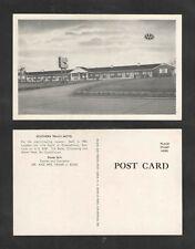 1950s Southern Trails Motel 1 Mile South Of Elizabethtown Kentucky Postcard