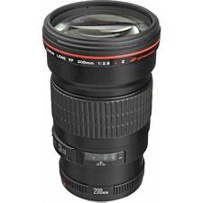 Canon EF 200mm f/2.8L II USM Lens for DSLR Camera Bodies