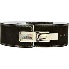 Schiek Sports Model 7010 Lever Competition Power Weight Lifting Belt - Black