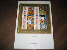 LS1 PERSONALIZED STAMPS GENERIC SMILERS COMPLETE  SHEET