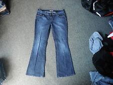 "Next Bootcut Jeans Petite Size 12P Leg 29"" Faded Dark Blue Ladies Jeans"