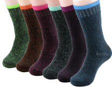 3 Pairs Womens Heated Winter Warm Thermal Heavy Duty Boots Sox Socks Size 5-9-11