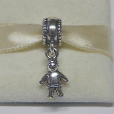 New Authentic Pandora Charm 790859 Sterling Silver Dangle Little Boy Box Include