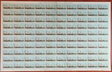 Portugal Colony-complete sheet 100 Stamps $50  Angola - 1972-RARE