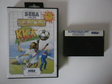 SUPER KICK OFF - SEGA MASTER SYSTEM