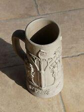 Bicchiere da birra tedesco in gres - Fine XIX secolo