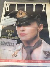 Madonna BLITZ newspaper 2003/2004 American life