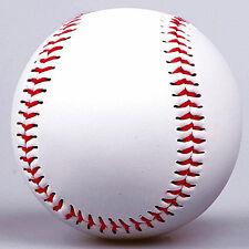 White Baseball Practice Training Base Ball Softball Sport Team Game New