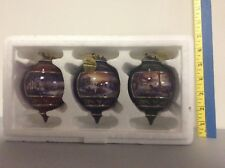 Bradley Collection Terry Redlin Ornaments Holiday Ornaments
