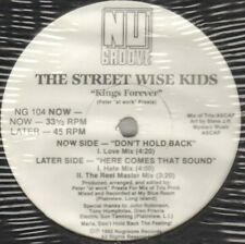 The Street Sage Kids -rois Forever - Nu Groove Records – NG 104 - Usa - 1992