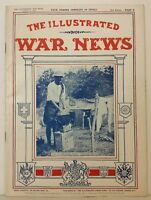 The Illustrated War News WWI Photos UK London Magazine Part 9 August 9 1916