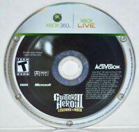 Guitar Hero III: Legends of Rock (Microsoft Xbox 360, 2007) GH 3 Video Game MINT