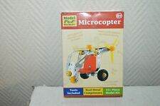 HELICOPTERE MICROCOPTER TOBAR 55 PCS STYLE MECCANO NEUF METAL + OUTIL MODEL KIT