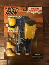"1999 (Hasbro) ""ACTION MAN"" (DESERT ADVENTURE) Clothing & Accessories Set, NEW!"