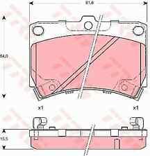TRW GDB3262 Brake Pad Set