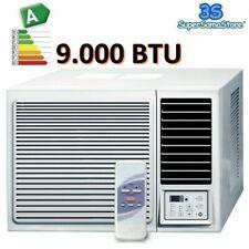 3S CLIMATISEUR fenêtre 9000 BTU CLIMATISATION R32 MONOBLOC avec pompe à chaleur