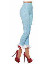 Farm Girl Womens Adult Dorothy Wizard Of Oz Costume Accessory Leggings-Std