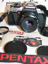 PENTAX PROGRAM PLUS 35mm SLR CAMERA w/ Pentax SMC-A 50mm F2 LENS