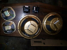 "Vintage Golden Voice Speakers 2 x12""  2x6, 2x3 inch 4 are ALNICO-NICE"