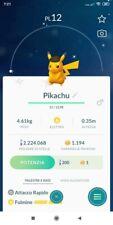 LEVEL 1 Shiny Male Pikachu safari black hat St. Louis Pokemon Go limited edition