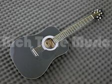 Stagg SW201 3/4 BK Acoustic Dreadnought Guitar