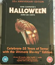 Halloween - UK Steelbook ( Blu-ray ) 35th Anniversay Limited Edition - Sealed
