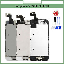 For iPhone 5 5S 5C LCD Touch Screen Full Replacement Display LCD Module Camer LD