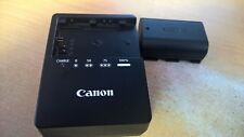 Genuine Original Canon LC-E6 Charger AND LP-E6 Battery