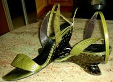 ROBERT CLERGERIE LEATHER SANDALS MADE IN FRANCE, Size 9