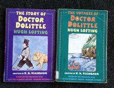 2 Hugh Lofting N.H. Kleinbaum Books The Story of Doctor Dolittle & Voyages of