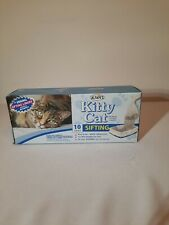"""New listing Kitty Cat Alfapet Sifting Pan Liners 10 Count Extra Giant Size 40"""" x 38"""" New"""
