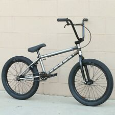 """2020 CULT BMX BIKE ACCESS 20"""" BICYCLE RAW with VANS tires"""