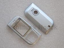 Original Nokia 6670 A + C - Cover   Frontcover   Akkudeckel in Silber Silver NEU