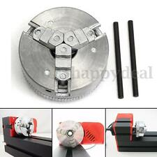 3 Jaw Self-Centering Lathe Chuck M12*1 45mm For Mini 6 in 1 Lathe +Two Lock Rods